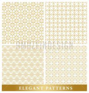 Set of Vector Islamic or Arabic Seamless Pattern - Amazeindesign