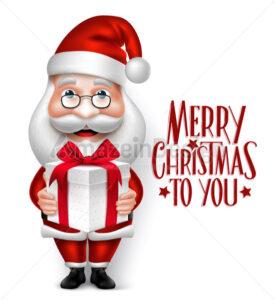 Christmas Santa Claus Cartoon Character