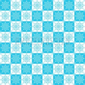 Winter Snow Flakes Background Pattern in Vector