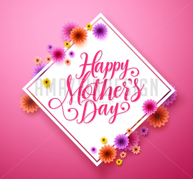 Happy mothers day typography greetings card design in vector happy mothers day typography greetings card design in vector amazeindesign m4hsunfo