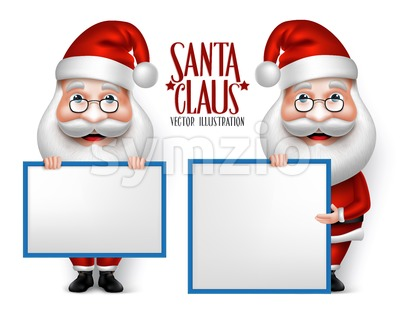 Vector Santa Claus Cartoon for Christmas Stock Vector